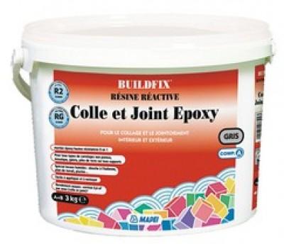 Colle et joint époxy gris perle 720