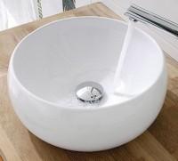 Bol EVASION porcelaine rond blanc à poser