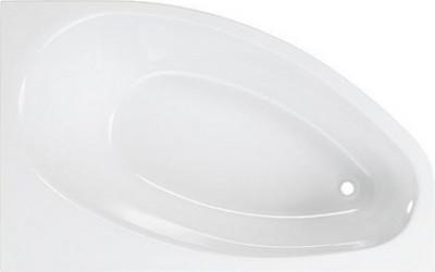 Baignoire AMANDE ACRYL blanc 150x100cm gauche