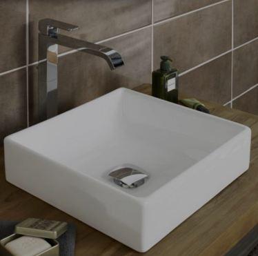 vasque caprice blanc porcelaine semi encastr e merignac. Black Bedroom Furniture Sets. Home Design Ideas