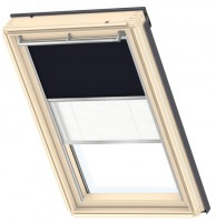 Store Duo DFD bleu marine AG F10 VELUX FRANCE