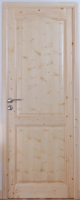 Porte classique sapin adaptable 211x88 épaisseur 32mm