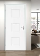 bloc porte th1 klassic pr peint huisserie 74 n olys recouvrement s3p 73cm droite bourg en. Black Bedroom Furniture Sets. Home Design Ideas