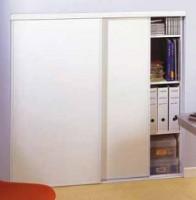Porte placard Relief NM 2 vantaux 201x90,3x2,7cm s/accès