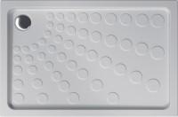Receveur à poser SEDUCTA XPL anti-glisse 80x120cm blanc