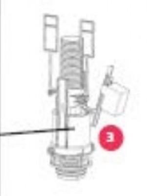 SAV pour bâti support CONCERTO mécanisme de chasse d'eau