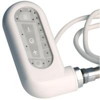 Boîtier électrique pour sèche-serviettes classique blanc 700W