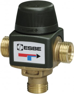 Vanne mitigeuse thermostatique 60D diamètre nominale 20 KVS1 6 ESBE FRANCE