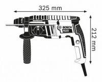 Perforateur SDS-Plus 650W +3 forets+burin+coffret BOSCH