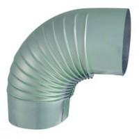 Coude plissé 90° aluminium ISOTIP-JONCOUX