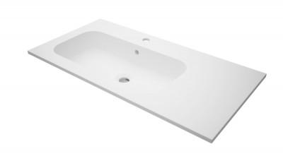 Plan de toilette SEDUCTA2 90cm vasque à gauche