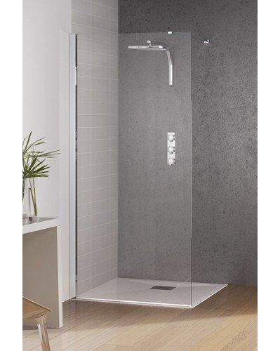 paroi de douche kinespace solo largeur 90cm verre transparent kinedo douche bayonne 64100. Black Bedroom Furniture Sets. Home Design Ideas