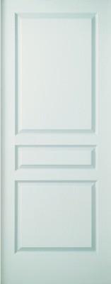Bloc porte Postforme 3 panneaux recouvrement isolant 204 x 73 huisserie 68 x 56