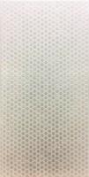 Faïence TWIST WAVE blanc brillant 25x40cm