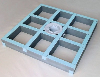 r hausse de receveur fundo primo 180x90 excentr wedi. Black Bedroom Furniture Sets. Home Design Ideas