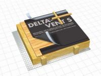 Delta-vent S PLUS 50mx1m50 rouleaux DOE - DOERKEN FRANCE