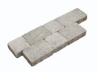 Pavé LES ECRINS multiformat épaisseur 6cm vieilli gris foncé SEN - MARLUX SAS