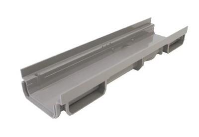 Caniveau bas 130mm en polypropylène 0.5ml NI2 - NICOLL