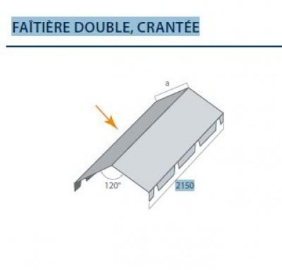 Accessoires tuile et ardoise d stockage habitat for Faitage bac acier