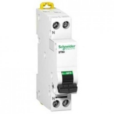 Disjoncteur DT40N 1P+N 10A D SCHNEIDER ELECTRIC