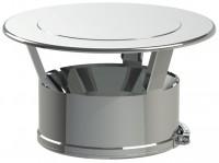 Chapeau plat inox diamètres 150-200mm+bride TEN
