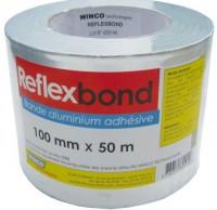 Adhésif aluminium REFLEXBOND 100mm rouleau 50ml