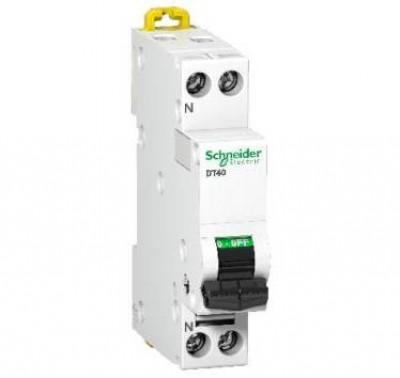 Disjoncteur DT40N 1P+N 16A D SCHNEIDER ELECTRIC
