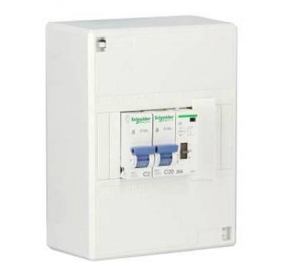 Coffret chauffe-eau et 1 contacteur SCHNEIDER ELECTRIC FRANCE