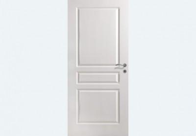 Bloc-porte alvéolaire postformé TD VILLA pré-peint 930 gauche poussant huisserie 90x57 rive droite peine dormant 1/2 temps