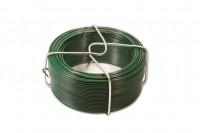 Fil d'attache 1.00-1.70 vert 100000 plastifié