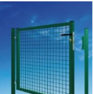 Portail GARDEN standard 50x50mm fil 4.0mm serrure PFZ vert 1000x1250mm