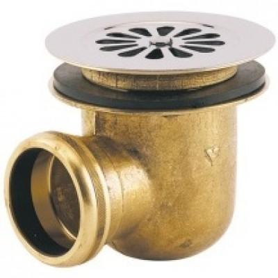 Bonde de douche en laiton à visser latérale réf 3021000 VALENTIN
