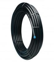 Tuyau PEHD bleu PE100 PN16 diamètre 25mm 50m RYB