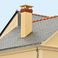 Sortie de toit TRADINOV 90 à 103% ocre TCP100-230G POUJOULAT