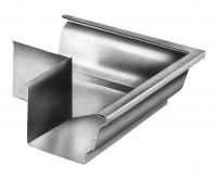 Équerre gouttière moulurée zinc naturel extérieur UMICORE BUILDING PRODUCTS FR.