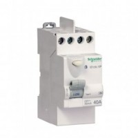 Interrupteur différentiel 40A 30MA  blanc SCHNEIDER
