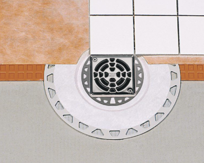 Ecoulement horizontale KERDI DRAIN - SCHLUTER SYSTEMS