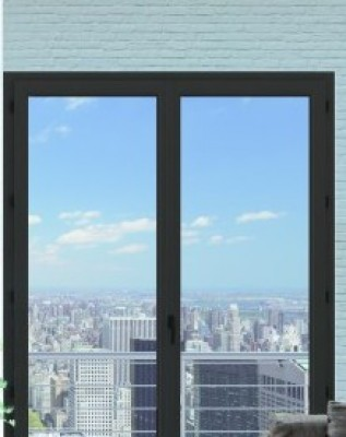 porte fen tre aluminium noir hauteur 2100mm 800mm les essarts 85140 d stockage habitat. Black Bedroom Furniture Sets. Home Design Ideas