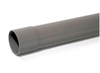 Tuyau PVC NFE+NFME diamètre 140mm 4m REHAU MATERIAUX