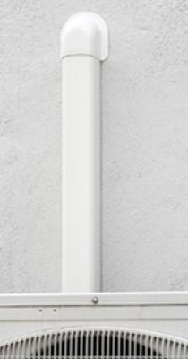 Goulotte de climatisation 30x35mm blanc paloma HAGER