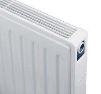 Radiateur compact 4 connexions TYPE 11 hauteur 700 20 éléments largeur 800mm 840W BRUGMAN