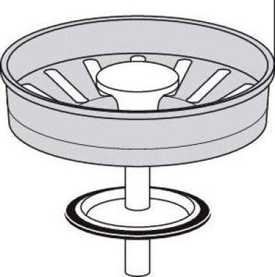 Panier manuel diamètre 84mm rentrant IN VALENTIN
