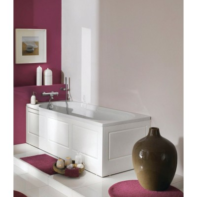 habillage baignoire square longueur 75cm blanc basic segment evreux 27016 d stockage habitat. Black Bedroom Furniture Sets. Home Design Ideas