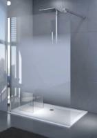 Paroi de douche DJANGO mobile 40cm verre transparent LEDA