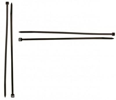 Collier 180mmx9mm noir 100 unités