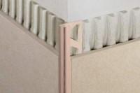 Profile RONDEC-PRO PVC colore blanc brillant 2.5m hauteur 10mm SCHULTER SYSTEM