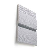Bardage fibre ciment Cédral lap classic gris schiste C18 10x160x3600mm soit 0.576m2