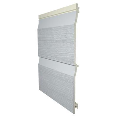 Bardage PVC structurée 1024 gris perle 300x6000mm soit 1.800m2