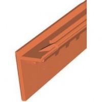 Rive verticale gauche ROMANE CANAL brun rustique