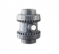 Clapets anti-retour PVC montage bride 63 EPDM